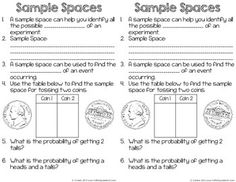 Worksheets Sample Space Worksheet sample space probability worksheet name use the counting principle to solve