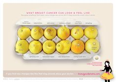 Know Your Lemons...What Breast Cancer Can Look and Feel Like