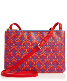 Red Liberty London Iphis Bayley Cross Body Pouch | Accessories | Liberty.co.uk