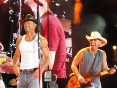 Tim McGraw, and Kenny Chesney