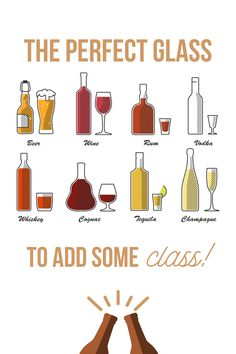 Liquor Drinks, Cocktail Drinks, Alcoholic Drinks, Beverages, Cocktails, Types Of Glassware, Perfect Glass, Alcohol Drink Recipes, Mixed Drinks