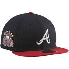 * New Era Atlanta Braves 2000 Cooperstown All-Star Patch 59FIFTY Fitted Hat, Sale: $19.99 -  You Save: $15.00