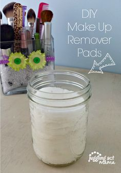 DIY Make Up Remover Pads via Juggling Act Mama http://jugglingactmama.com/2014/05/diy-make-remover-pads.html #diy #homemade #makeupremover