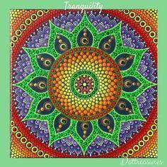 Boho Style Mandala  Tranquility