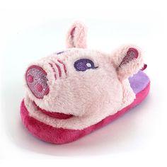 Wiggle Warms Angel the Pig Kids Slippers www.YankeeToyBox.com #YankeeToyBox #Slippers #Fashion #ValetinesDay #Sale