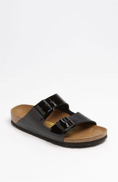 Birkenstock  Arizona  Soft Footbed Patent Leather Sandal (Women) available  at  Nordstrom 420716076d