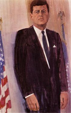 ジョン・F・ケネディ(1962年) #illust #BernieFuchs