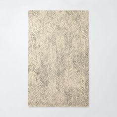 3x5 $118  love Vines Wool Rug - Neutral | west elm
