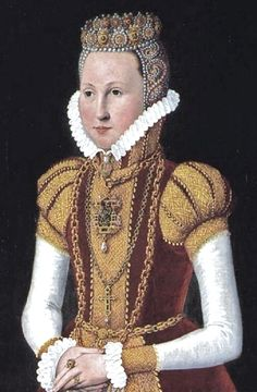 1578 Queen Anne's daughter Sophie of Mecklenburg-Güstrow (1557-1631) was a German noble and Queen of Denmark and Norway.