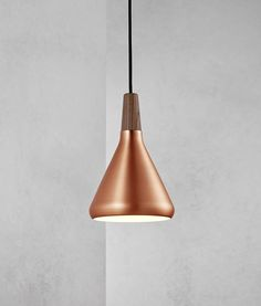 A sleek, chic and striking modern copper pendant light, combining that Danish style and quality we all love. Comes with of black fabric cable. The height of this light fitting is adjustable on installation to your required level. Copper Pendant Lights, Copper Lighting, Pendant Lighting, Pendant Lamps, Pendants, Ceiling Rose, Ceiling Lights, Scandinavian Lighting, Scandinavian Interiors