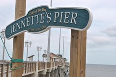 OBX The newest pier on obx. On the beach road just before the turn south towards the Bonner bridge. Great place to take the kids.