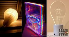 corte laser grabado laser , efectos de la luz sobre el acrilico y mdf trupan