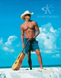 Kenny Chesney!  LOVE, LOVE, LOVE this man's music!!!!  His voice, his lyrics, his love of the ocean.....just can't say enough about his music!