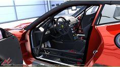 Ferrari 599XX EVO official license for Assetto Corsa racing game