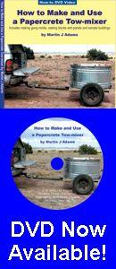 Papercrete - Uma incrível DIY material