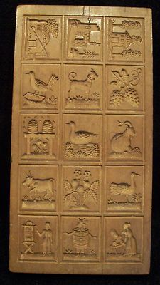 Are German Springerle cookies part of your heritage? This is one of the most beautiful molds I've seen.