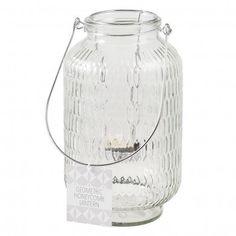 Giant Clear Honeycomb Glass Tea Light Holder