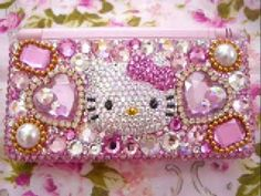 Hello kitty blinged out