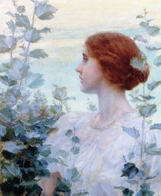 by Charles Courtney Curran