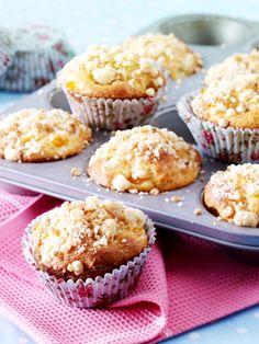 Aprikosen-Quark-Muffins mit Streuseln