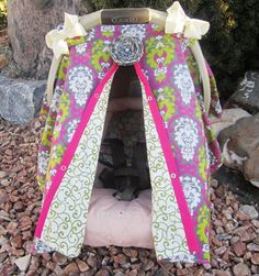 Carseat Canopy Free Shipping Code Today by SooShabbyChic on Etsy, $36.99