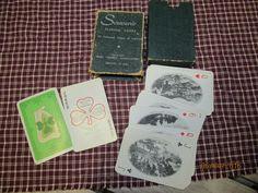 Vintage Irish Souvenir Playing Cards 32 Views of Ireland Irish Tourist Association Printed in Eire by EvenTheKitchenSinkOH on Etsy