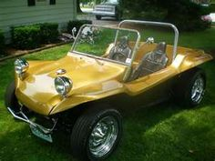 Gold Dune Buggy