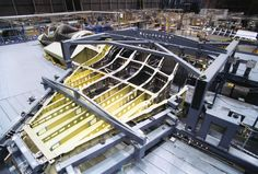 Main spars of the Product of Alcoa 50000 press. Stealth Aircraft, Fighter Aircraft, Fighter Jets, Military Jets, Military Aircraft, Aviation Forum, Airplane Design, Aerospace Engineering, Aircraft Design