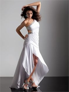Sexy One Shoulder with Beaded Strap 2013 Prom Dress PD11213 www.dresseshouse.co.uk $118.0000