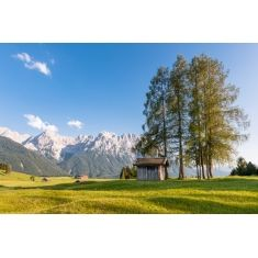 Klais und Mittenwald, Buckelwiesen, Oberbayern, Fototapete, Merian, Fotograf: G. Lengler