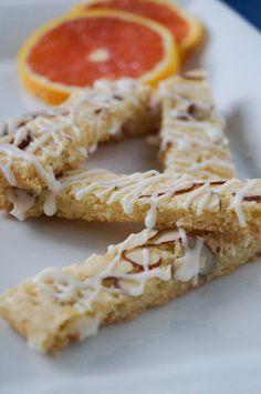 Orange Almond Bars