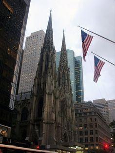 Viajando para Nova Iorque - Saint Patrick's Cathedral