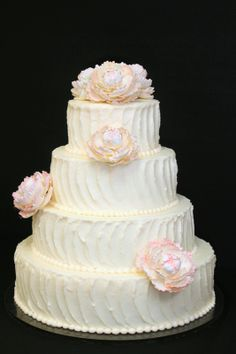 Beautiful Buttercream cake.