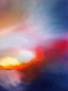 NATIVITE (Peinture), 100x100x1,5 cm par Francoise Gary