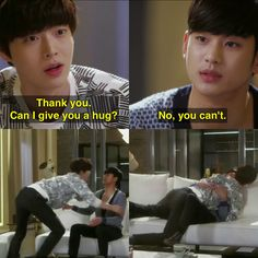 Hahaha I love these two My Love From Another Star.me with kdramas Korean Actors, Korean Dramas, Kdramas To Watch, Korean Drama Funny, K Drama, Moorim School, My Love From Another Star, Kdrama Memes, Drama Quotes