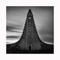 https://flic.kr/p/NdhUjw   Hallgrímskirkja   Hallgrímskirkja in Reykjavic at 244ft tall is the largest church in Iceland and one of the largest buildings in the entire country, even for a very laid back country it's quite amazing that it took a rather pedestrian 41 years to complete!  This was shot just prior to dawn, there was some great heavy cloud movement this morning so ideal for a long exposure, only needing to use the little stopper at this time of day to give well over a minute of…