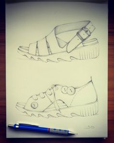 #sketch #handmade #style #summer #sandals #mywork #newcollection #women #designer #design #fashion #footwear #inspiration #art #idea #sketchbook #sketching #choices #mychoice #mystyle #job #2017  #myvision