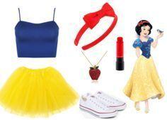 (Mais) Fantasias fáceis para o carnaval (Mehr) Einfache Karnevalskostüme Cute Group Halloween Costumes, Halloween Outfits, Disney Halloween, Princess Costumes, Girl Costumes, Costumes For Women, Easy Costumes, Theme Animation, Disney Dress Up