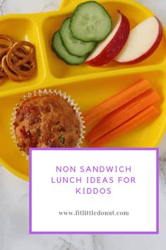 How many times do your kiddos complain about their food? Between the three of mine, I feel like it is constantly…but we mamas run out of ideas for lunch! I know, I hav… Healthy Breakfast Recipes, Lunch Recipes, Dinner Recipes, Kid Recipes, Healthy Kids, Healthy Snacks, Non Sandwich Lunches, Easy Kid Friendly Dinners, Healthy Lifestyle Habits