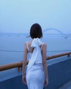 Hangzhou, Girl Photography Poses, Famous Women, Bikini Beach, Hollywood Actresses, Anastasia, White Dress, Instagram, Victoria