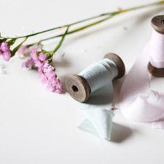 Hand-dyed Silk ribbon #Hand-dyed #silkribbon #handdyedsilkribbon #handdyedsilkribbon #weddingstationery #weddingbouquet
