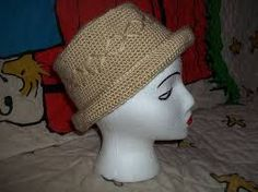 Image result for pattern  knitted hat with straight brim