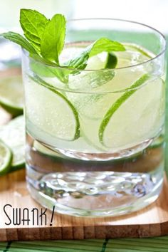The cucumber gimlet by @Greg Henry | Sippity Sup