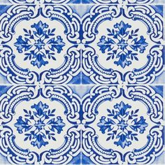 Azulejos Cobalt