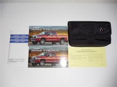 2001 ford taurus owners manual book owners manuals pinterest 2007 dodge ram truck owners manual book set fandeluxe Image collections