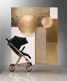 Signature Edition Black/Rose Gold Urbo² Stroller - New Arrivals - Mamas &…