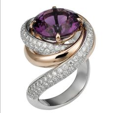 Amethyst, the official birthstone of February, signifies dignity, wisdom, hope, sacrifice and spiritual wisdom. Though amethysts are always purple, they come in a range of colors from light lilac to deep purple.