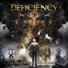 "Deficiency News/ Nouvelle vidéo "" Newborn's Awakening""   Deficiency dévoile la vidéo de ""Newborn's Awakening"", troisième extrait de leur nouvel album ""The Dawn of Consciousness"", qui sortira le 24 mars chez Apathia Records.  https://www.youtube.com/watch?v=hjxR7-XWX4o  Précommandes à cette adresse : apathia.link/deficiency"