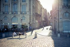 Bordeaux, France.  I feel like I've been here before...in another time.