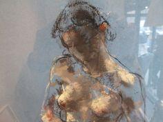 Caroline Deane (British) - Drawing 2 (detail) Drawings: Pastels on Paper